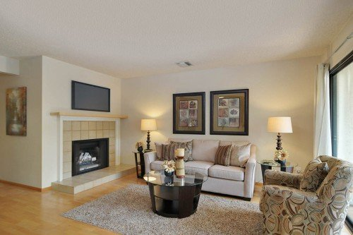 Inviting Fireplace - 3705 Terstena Pl.