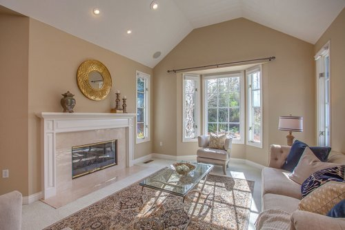 Living Room - 10465 Madrone Ct