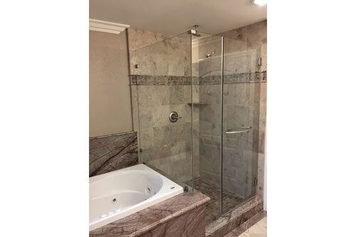 Master Shower Tub - 1721 Askam Lane