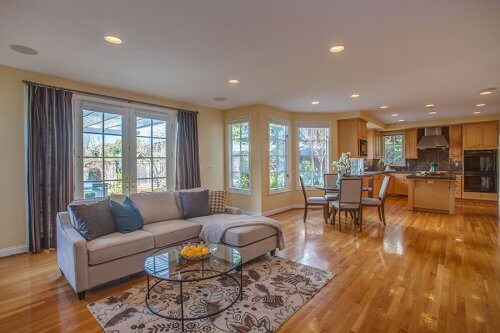 Family Room - 10465 Madrone Ct