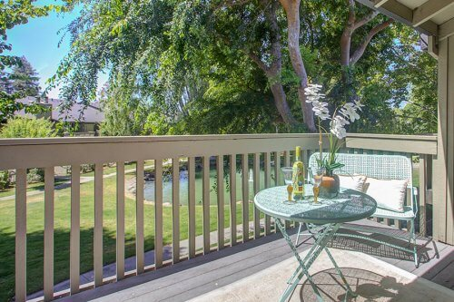 Balcony - 2258 Almaden Rd Unit B