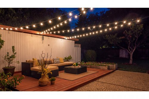 Patio Twilight - 1700 Dalehurst Ave