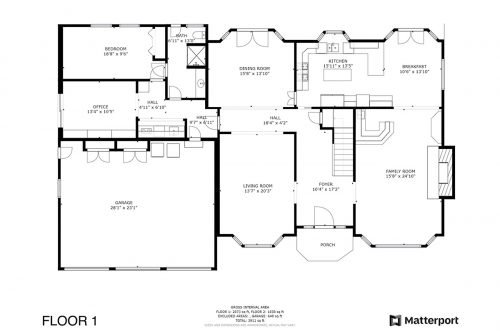 Floorplan 1st 1319 Carvo Ct Los Altos