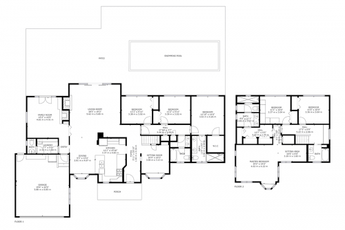 Floorplan 978 Highlands Circle Los Altos