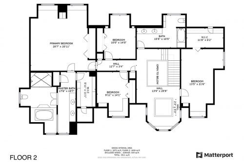 Floorplan 2nd 1319 Carvo Ct Los Altos