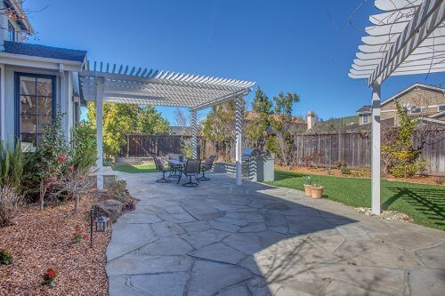 Back Yard - 10465 Madrone Ct