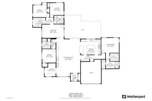Floor Plan 1480 Montclaire Pl Los Altos