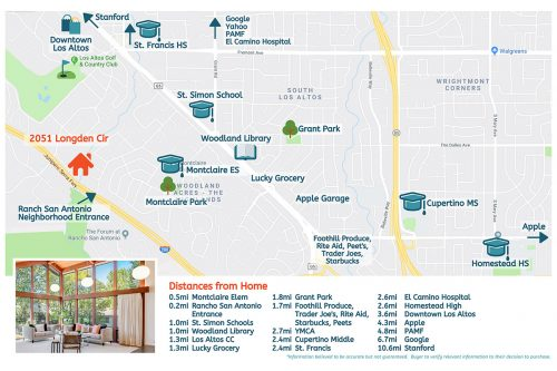 Amenities 2051 Longden Cir Los Altos