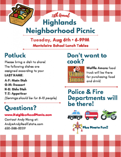Highlands Neighborhood Picnic