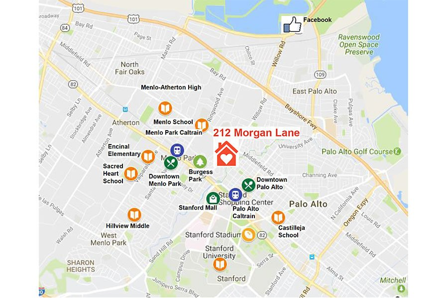 Map - 212 Morgan Lane