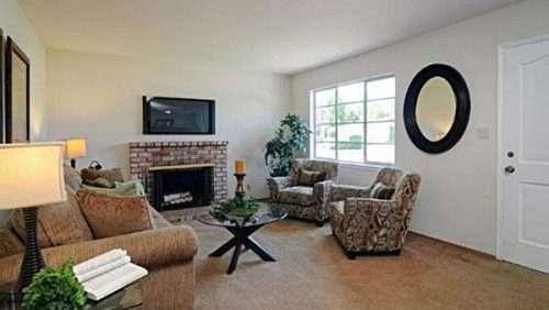 Rose Blossom, Living Room: After