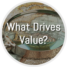 What Drives Value?