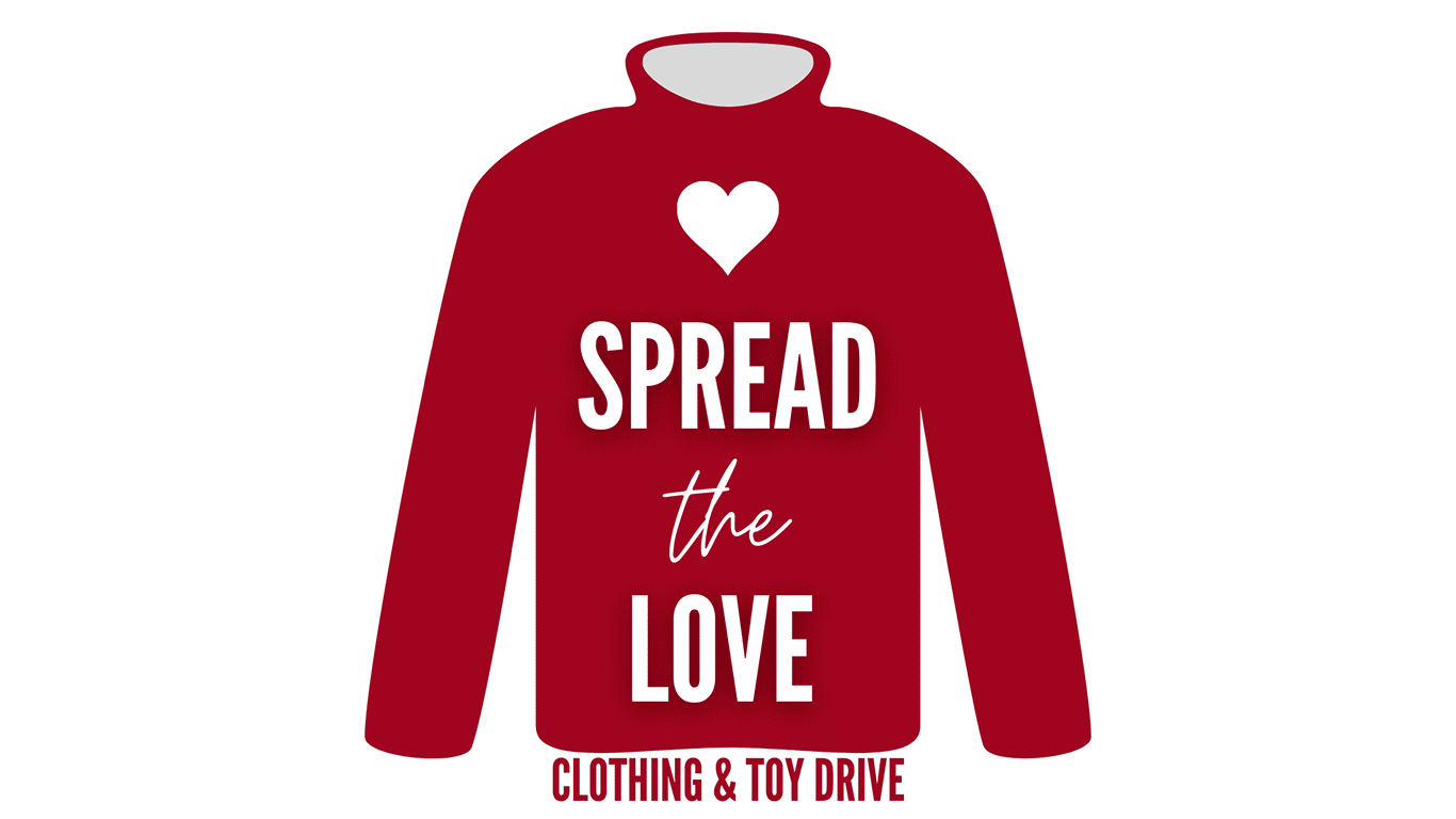 Spread the Love - Clothing and Toy Drive